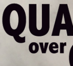qualityoverquantity